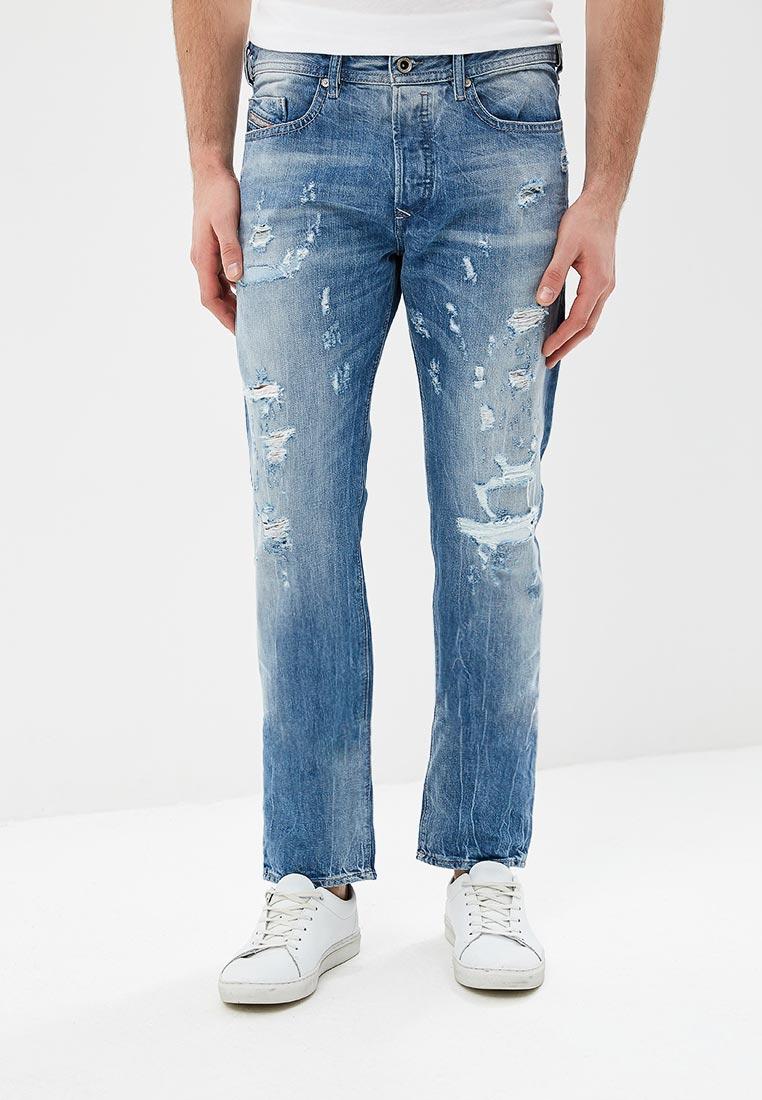 Мужские прямые джинсы Diesel (Дизель) 00SDHC084CM