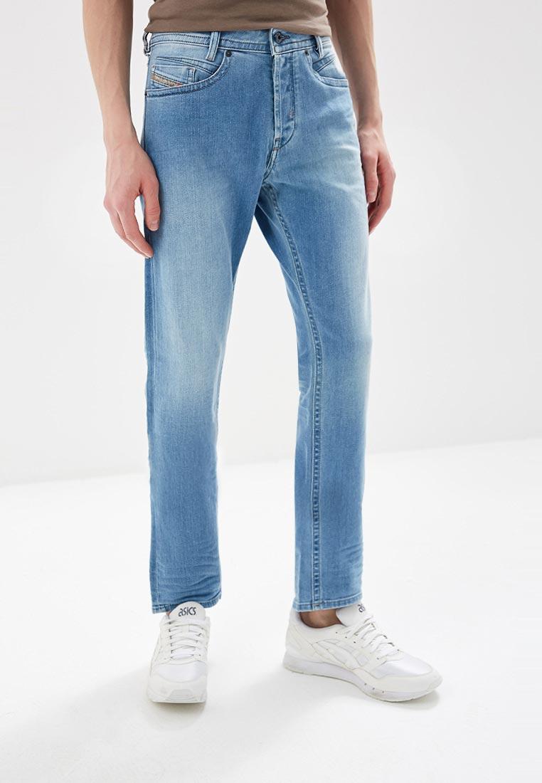 Мужские прямые джинсы Diesel (Дизель) 00SR62084EG