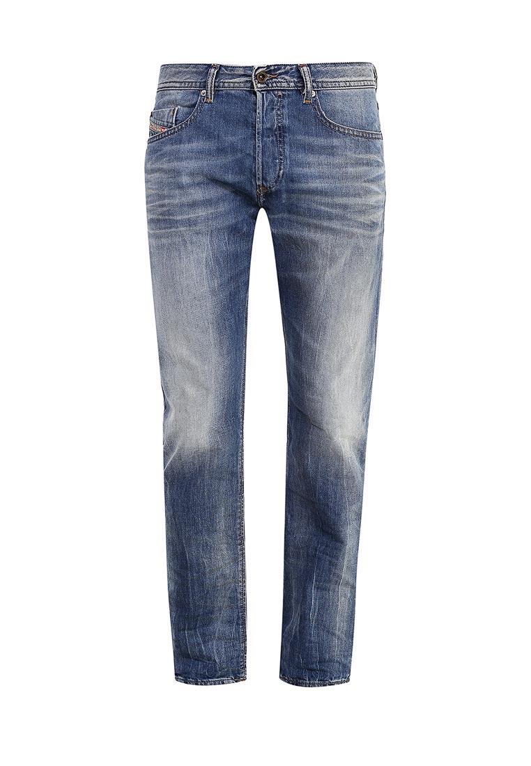 Мужские прямые джинсы Diesel (Дизель) 00SDHA.0849A