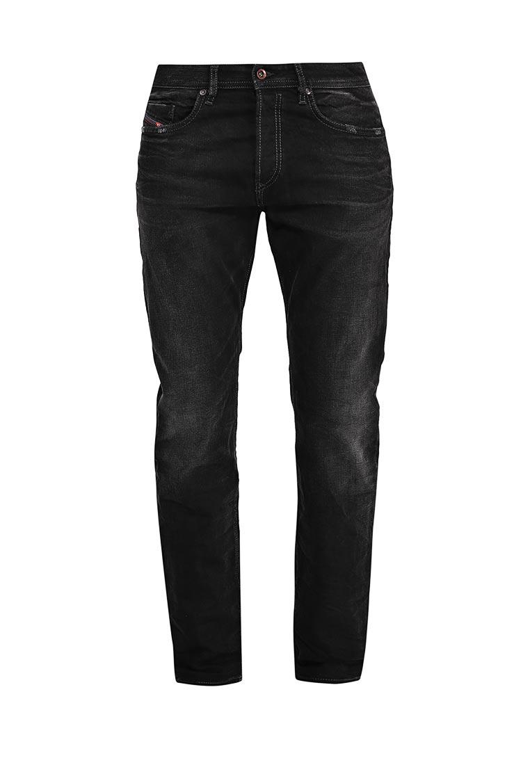 Мужские прямые джинсы Diesel (Дизель) 00SDHB.0666Q