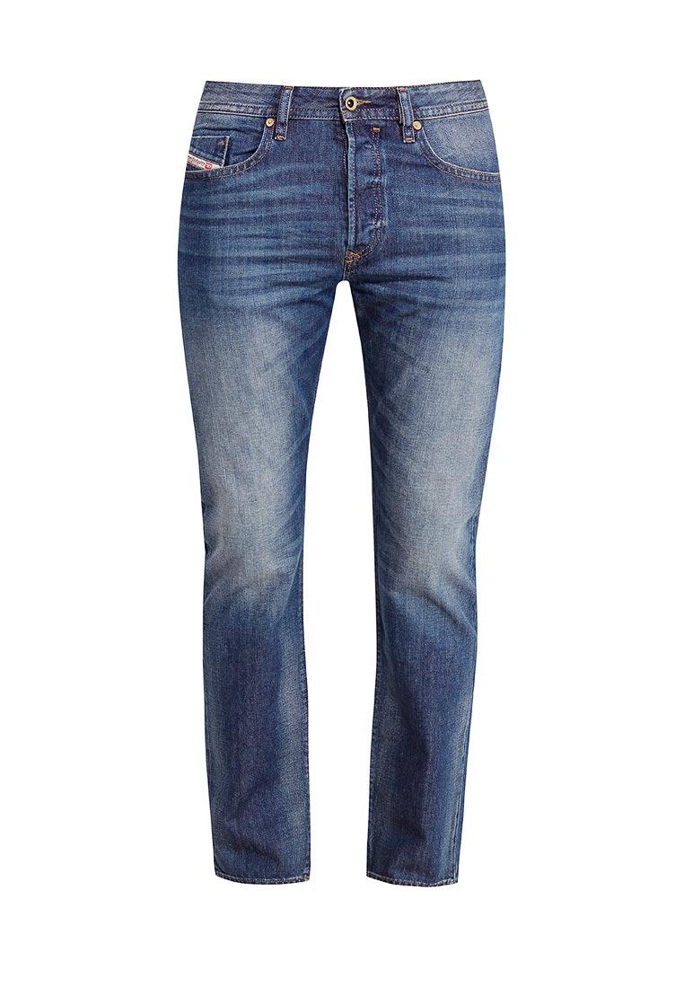 Мужские прямые джинсы Diesel (Дизель) 00SDHA.0857H