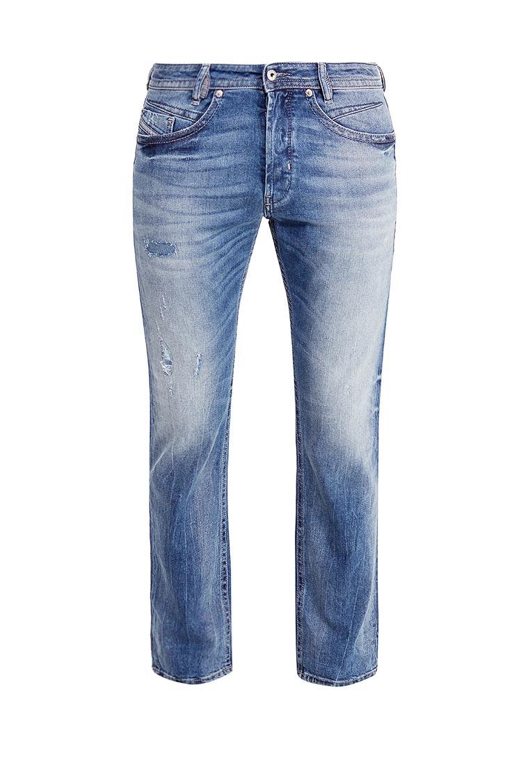 Мужские прямые джинсы Diesel (Дизель) 00SR60.0853Y