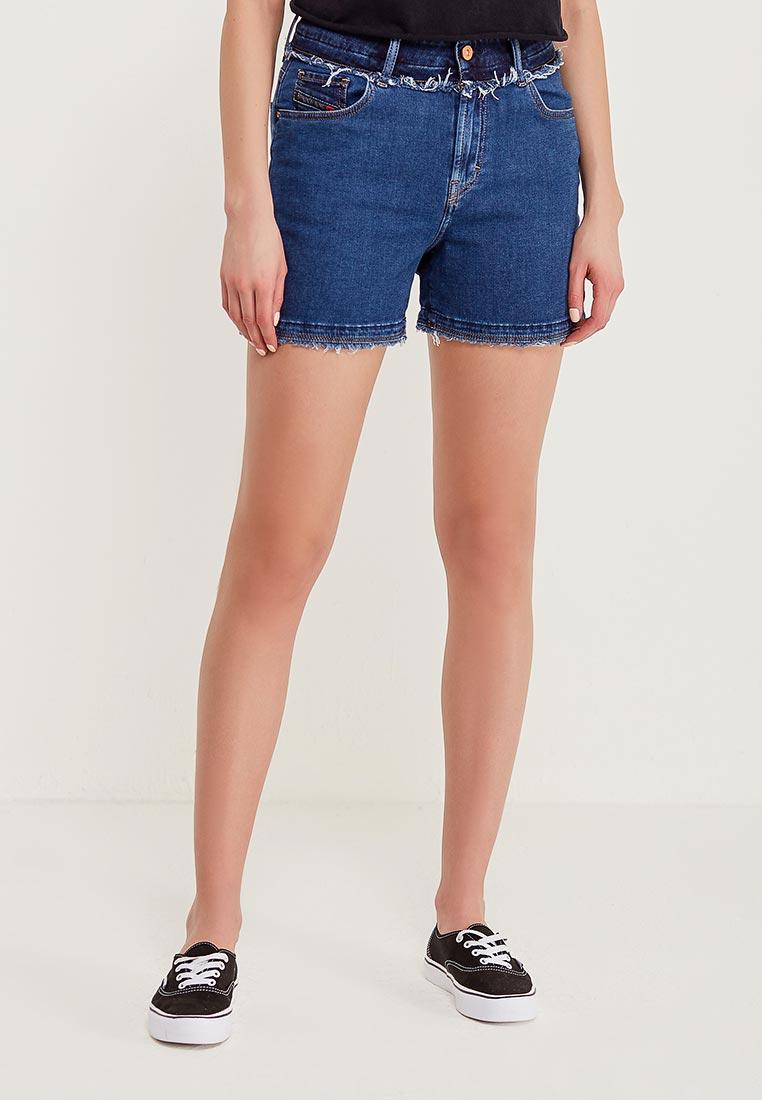 Женские джинсовые шорты Diesel (Дизель) 00SEA5084PS