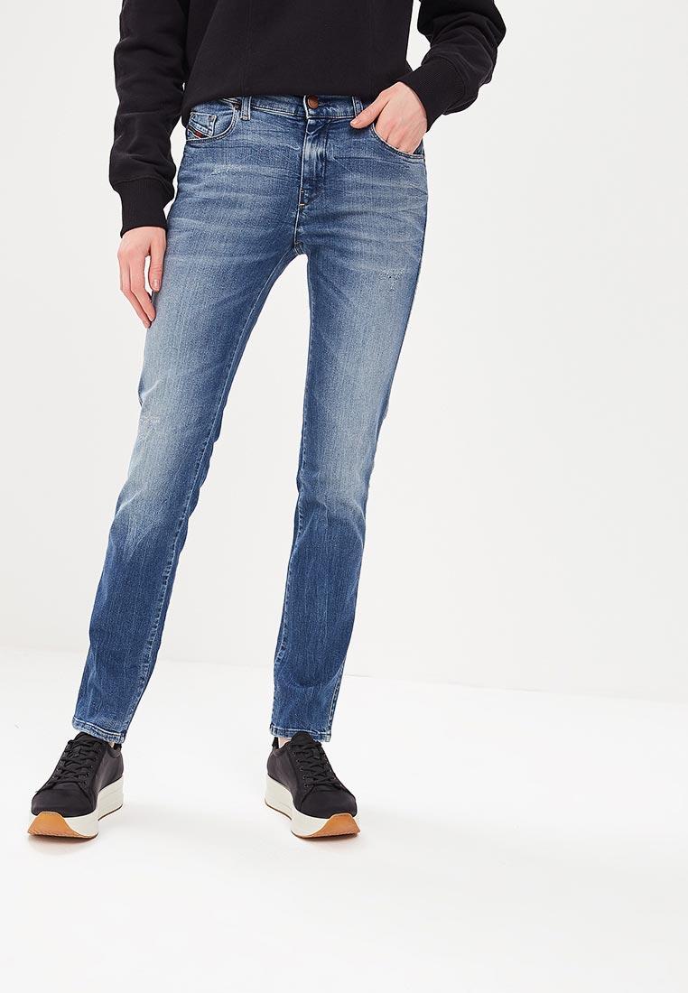 Зауженные джинсы Diesel (Дизель) 00SFXN0681U