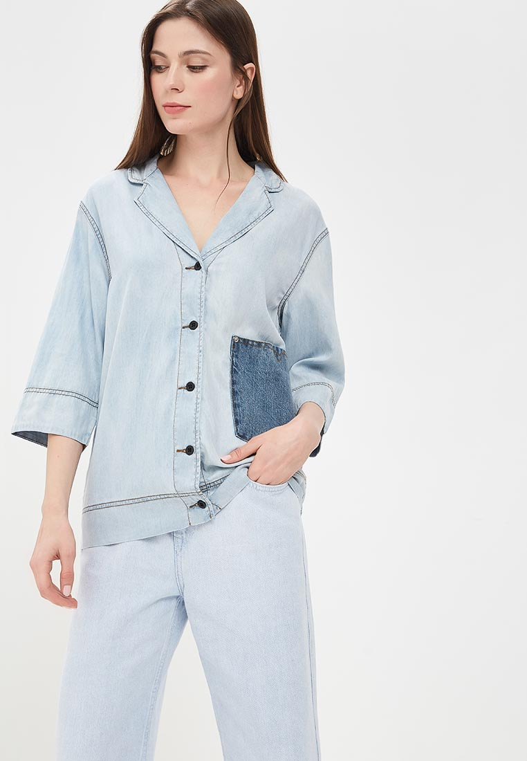 Женские джинсовые рубашки Diesel (Дизель) 00SX8A.0PAPE