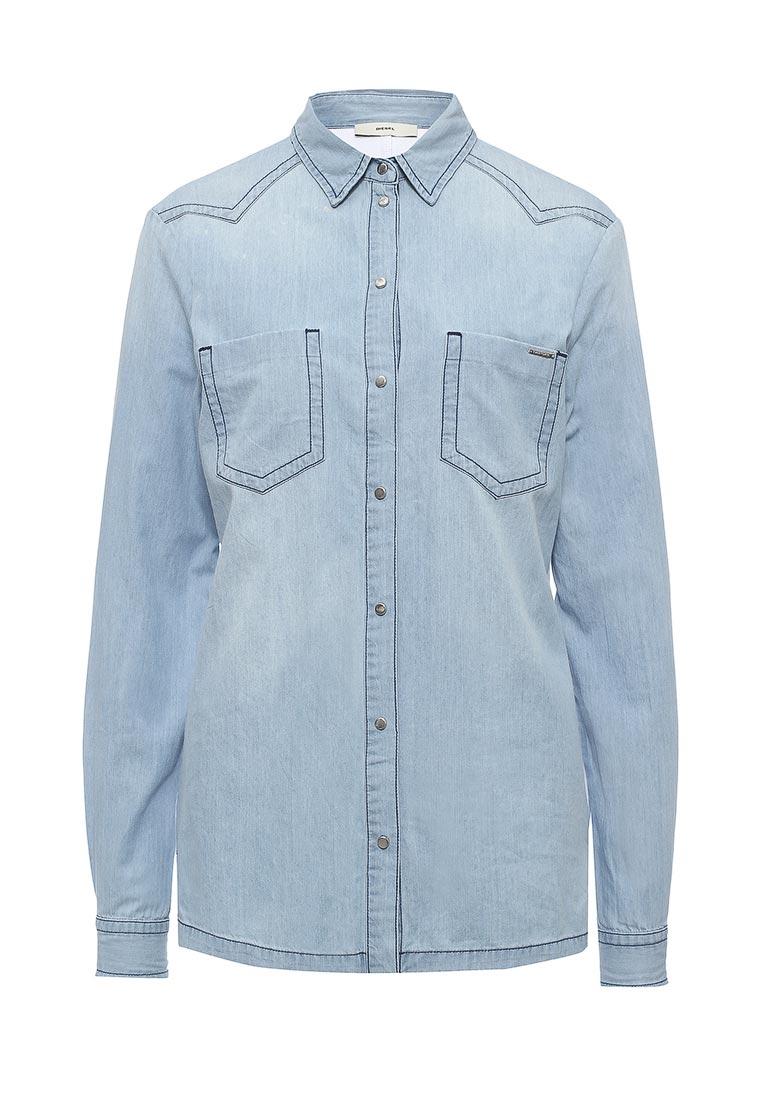 Женские джинсовые рубашки Diesel (Дизель) 00SNH1.0TALD