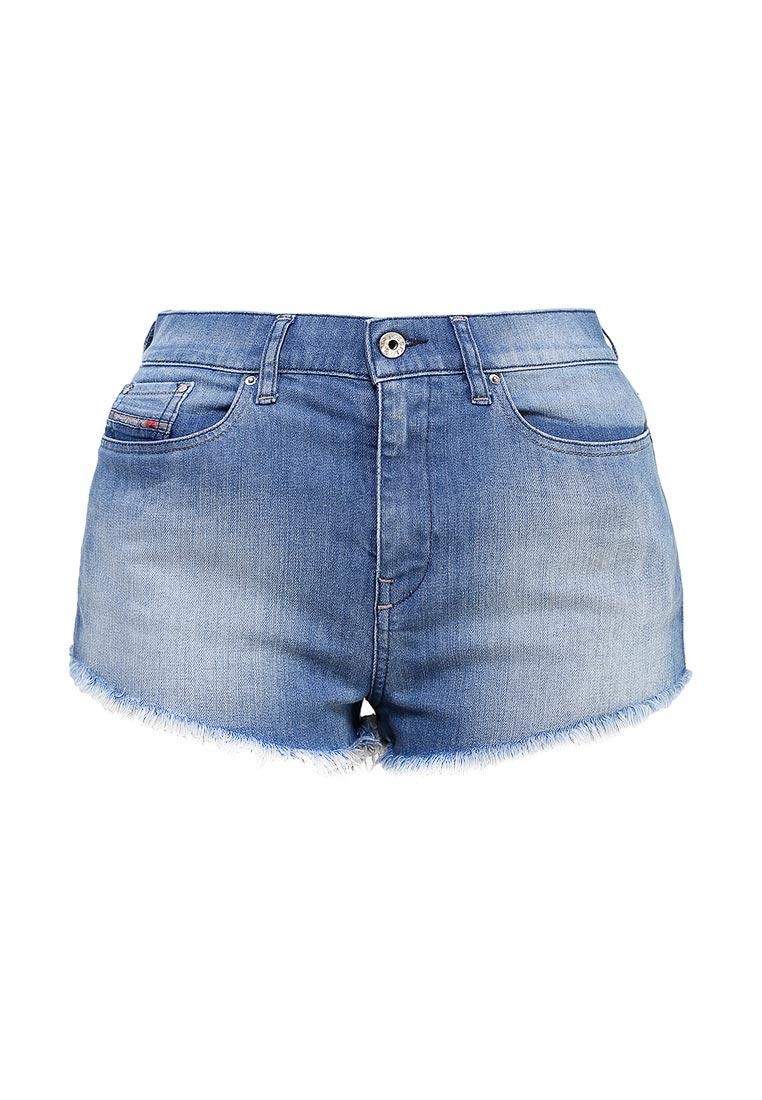 Женские джинсовые шорты Diesel (Дизель) 00SQER.0673R