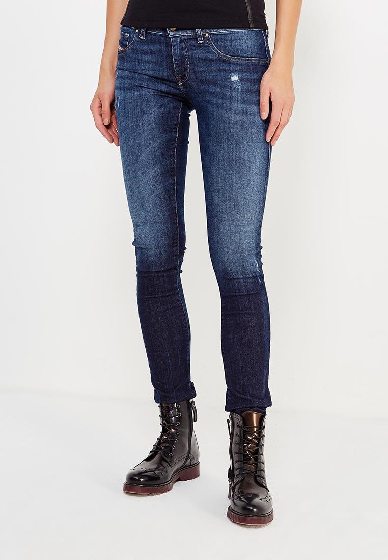 Зауженные джинсы Diesel (Дизель) 00CQLP.0668F