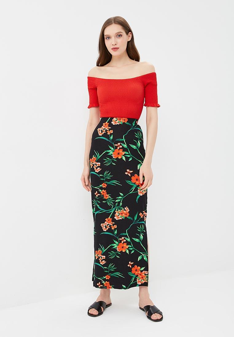 Прямая юбка Dorothy Perkins (Дороти Перкинс) 14782110: изображение 2