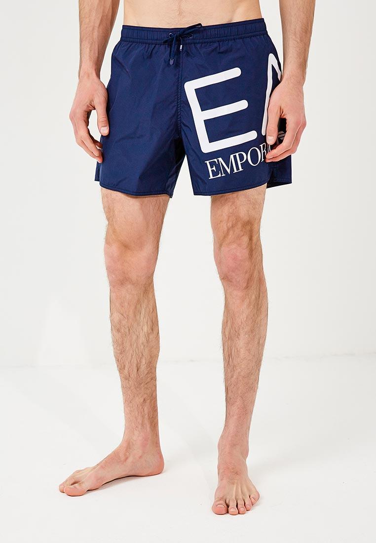 Мужские шорты для плавания EA7 902000 8P739