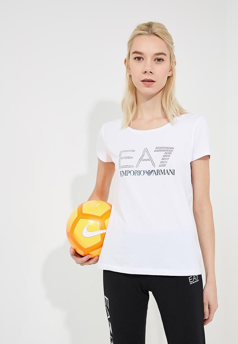 Футболка с коротким рукавом EA7 6ZTT78 TJ12Z