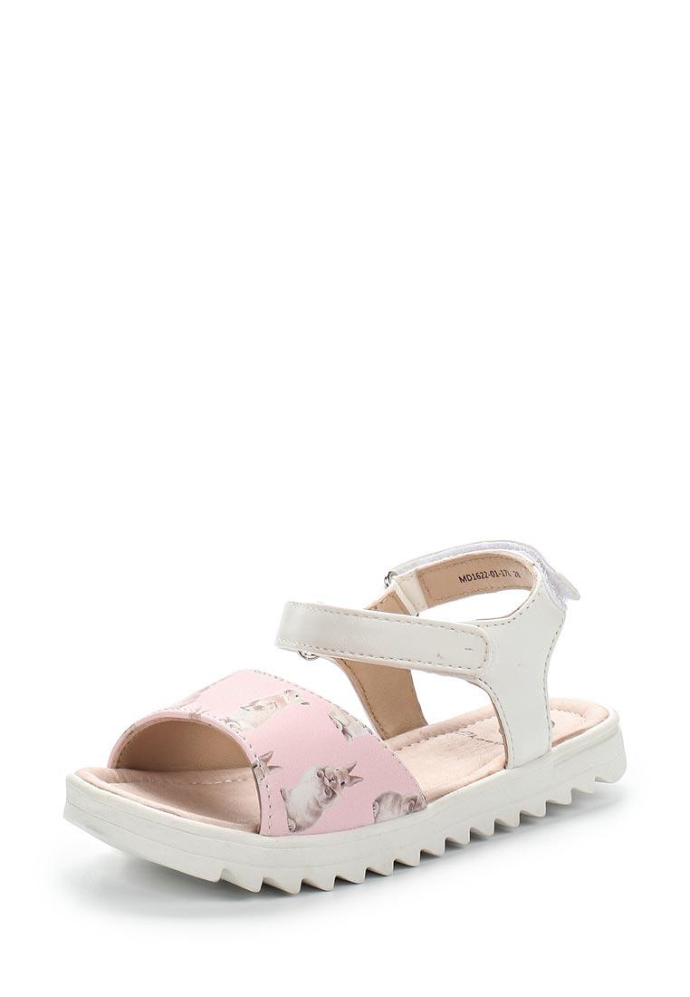 Сандалии Ekonika MD1622-01 pink/white-17L