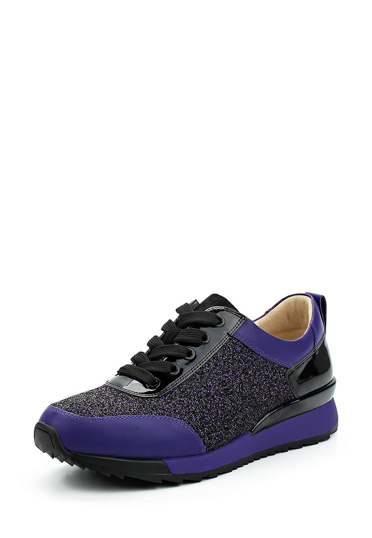 Женские кроссовки Ekonika EN1010-01 black/violet-18L