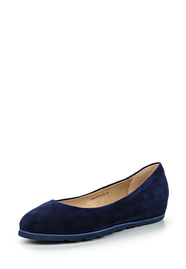 Туфли на плоской подошве Ekonika EN1141-01 dk.blue-17L