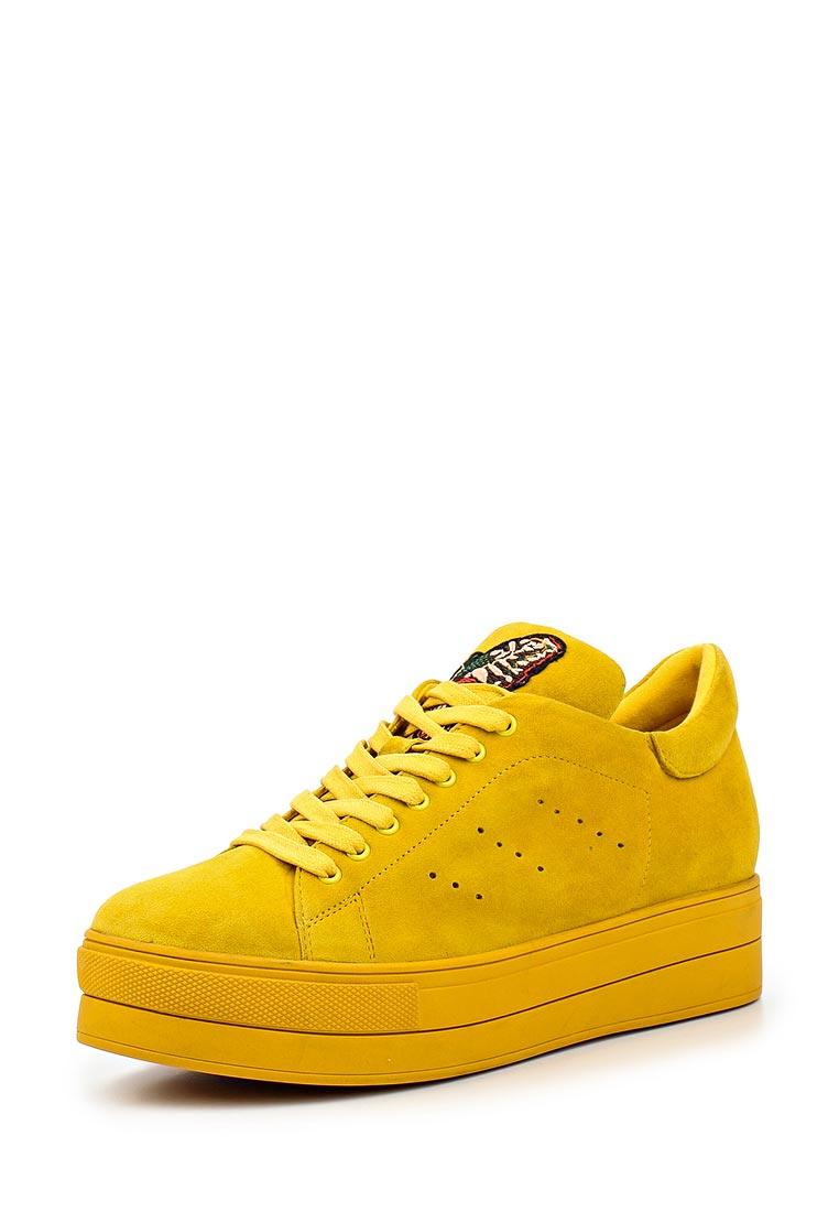 Женские кеды Ekonika EN1489-01 yellow-17L
