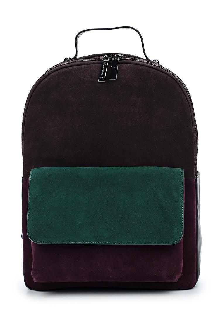 Городской рюкзак Ekonika EN30704 brown/green-17Z