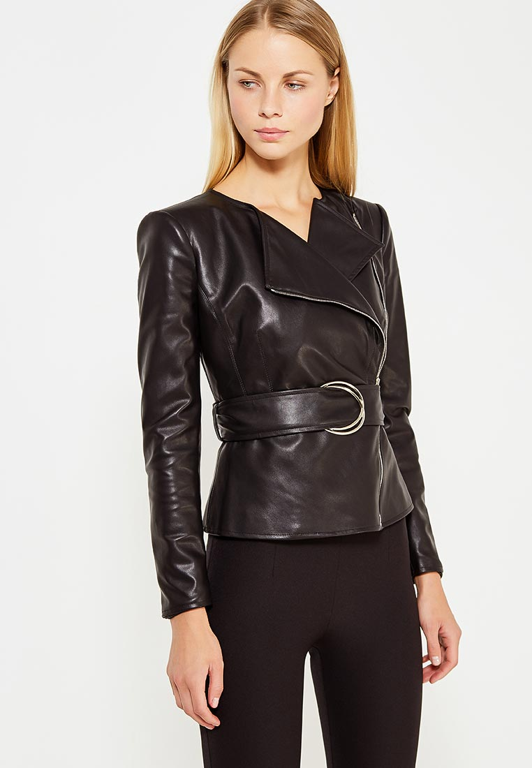Кожаная куртка Elisabetta Franchi GI01576E2