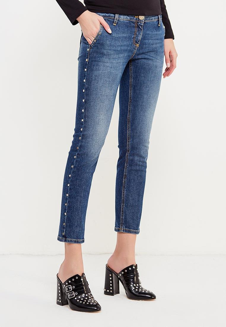 Зауженные джинсы Elisabetta Franchi PJ16J76E2