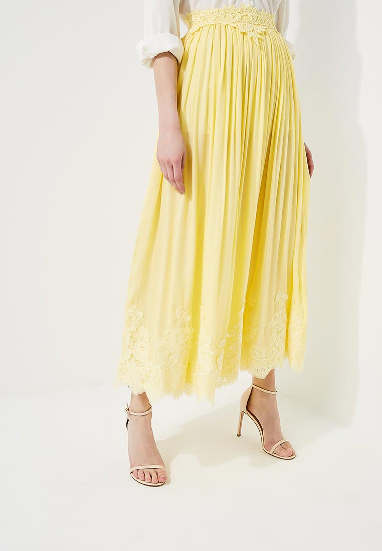 Макси-юбка Elisabetta Franchi (Элизабетта Франч) GO07082E2