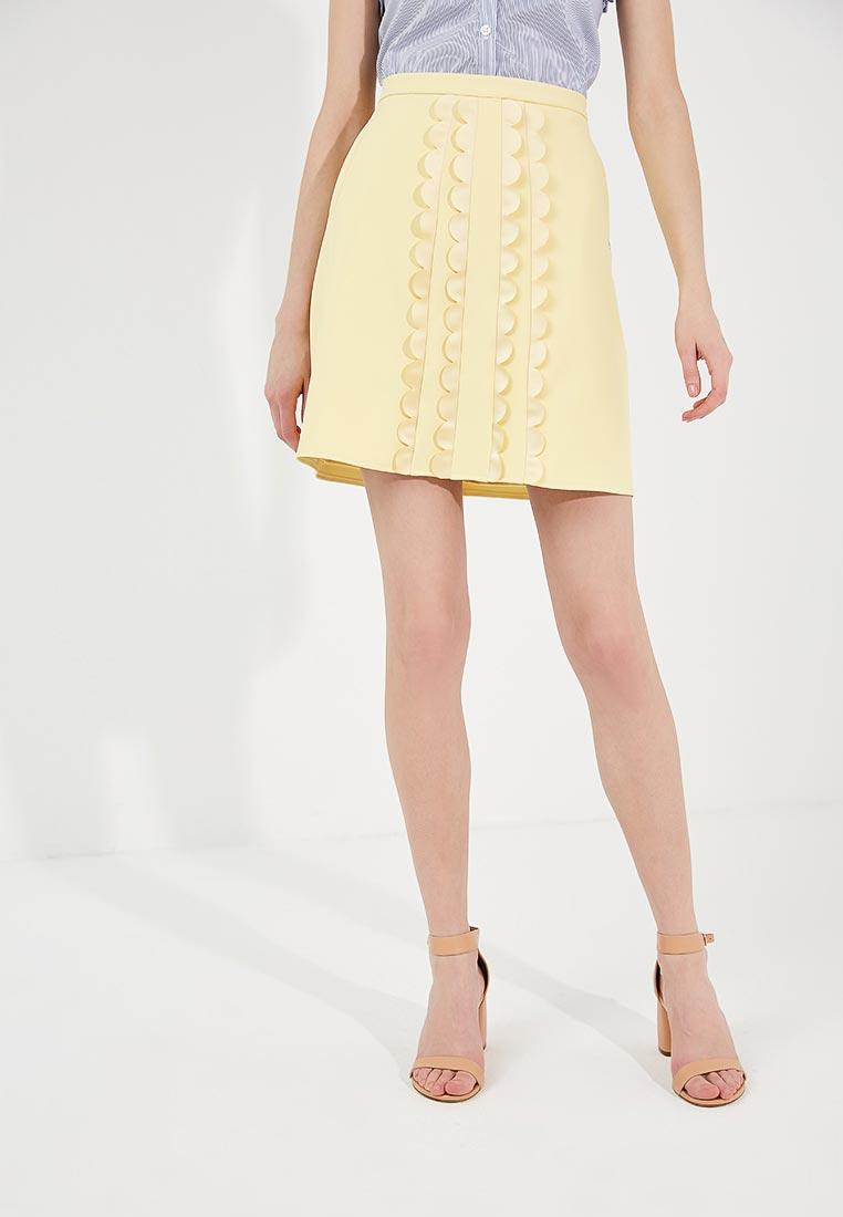 Прямая юбка Elisabetta Franchi GO07382E2