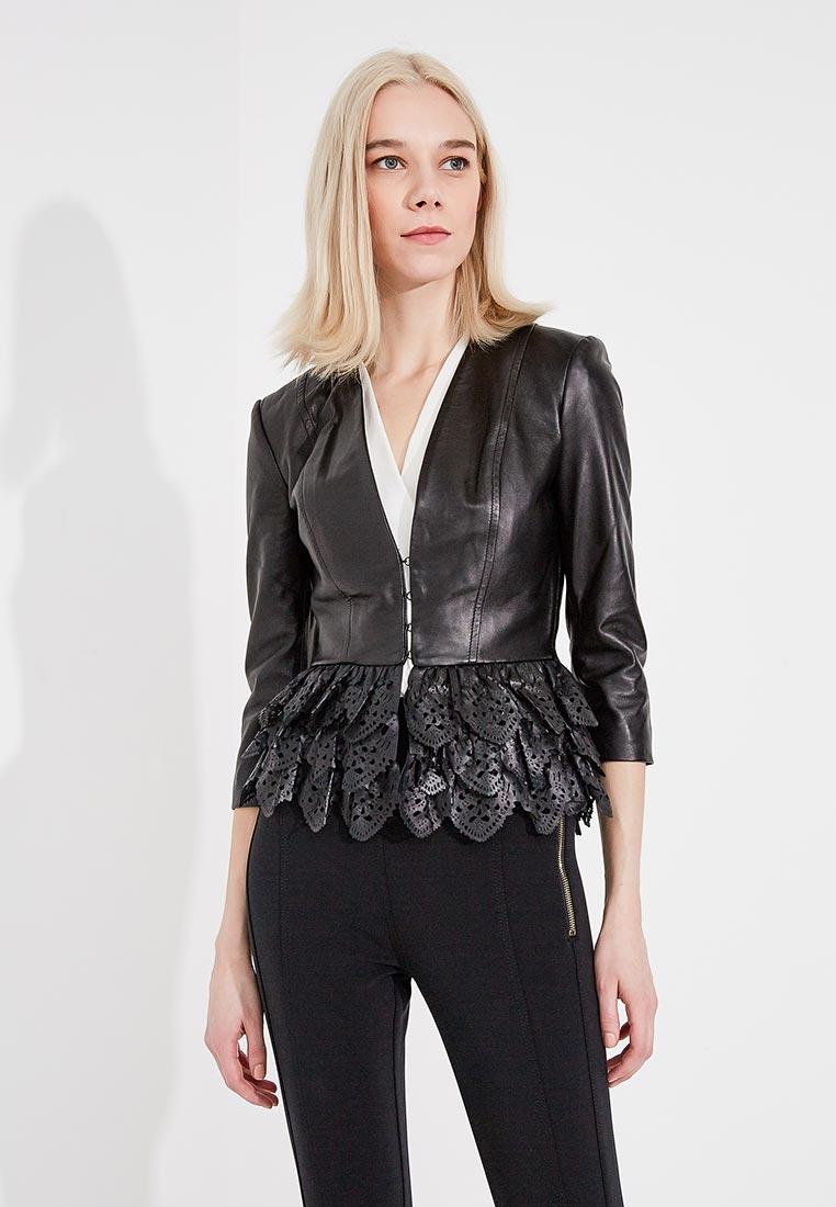 Кожаная куртка Elisabetta Franchi GD03Z81E2