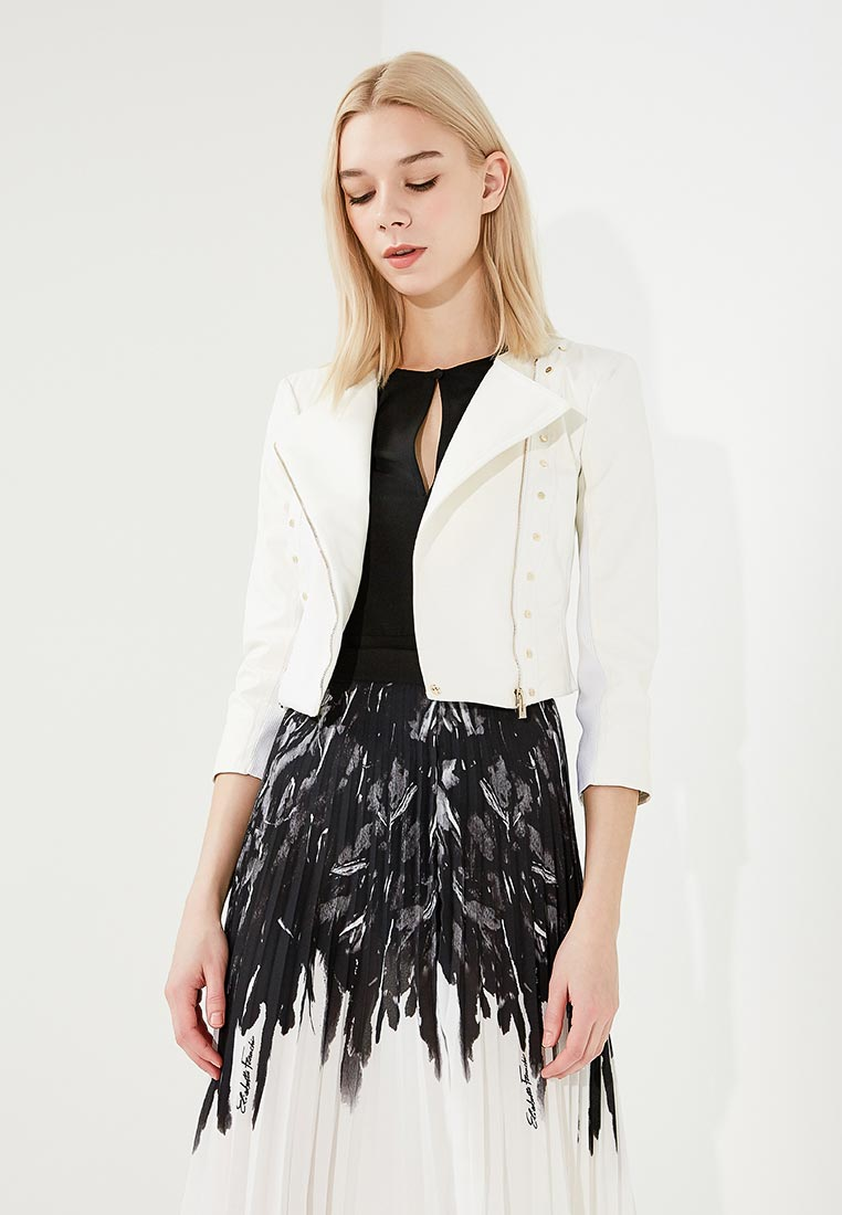 Кожаная куртка Elisabetta Franchi GI04781E2