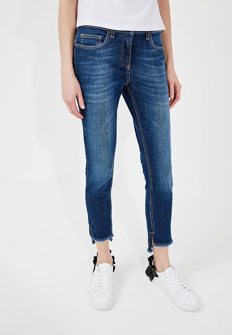Зауженные джинсы Elisabetta Franchi PJ09M81E2