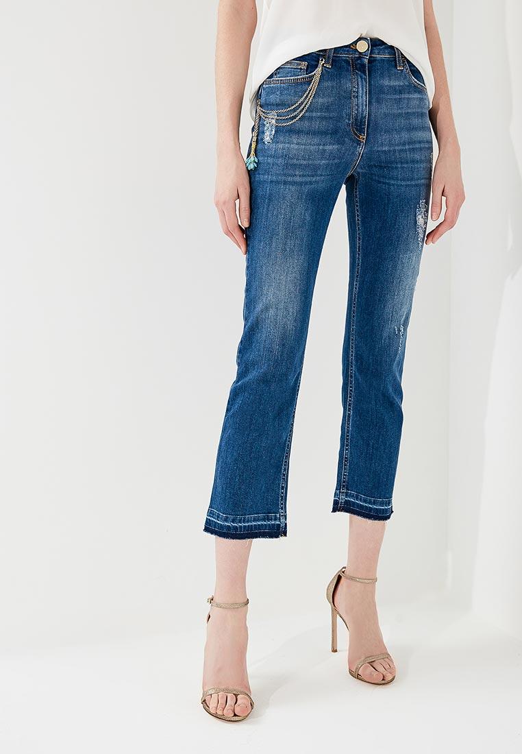 Прямые джинсы Elisabetta Franchi PJ25D81E2
