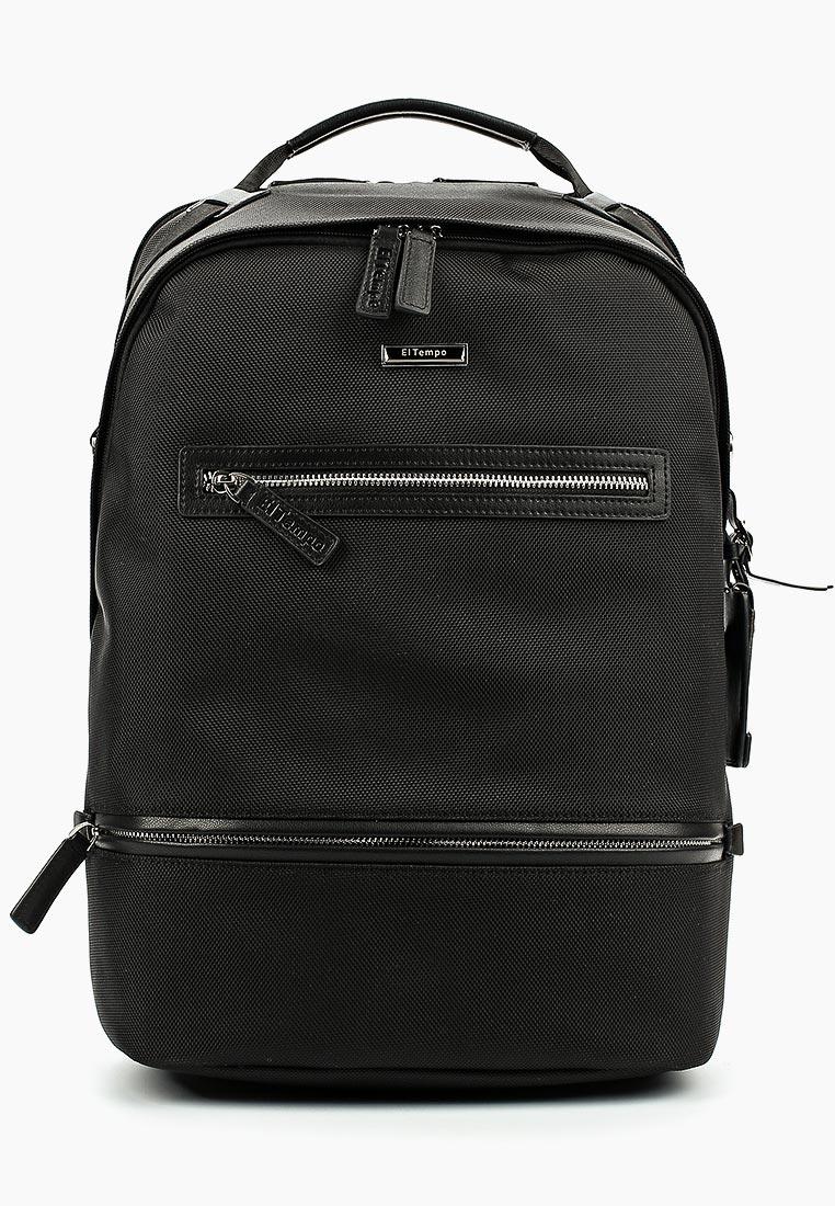 Городской рюкзак El Tempo CBG18_1709_BLACK