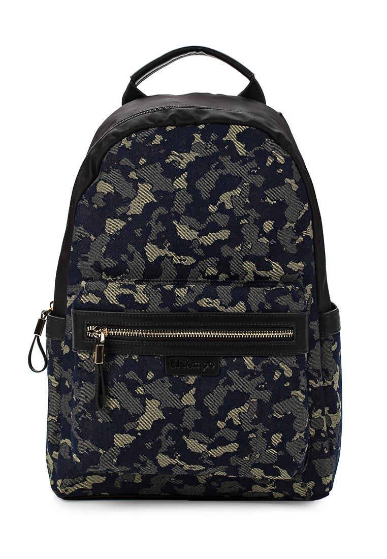 Городской рюкзак El Tempo CBG17_HB-8223-2C_MULTI/BLACK