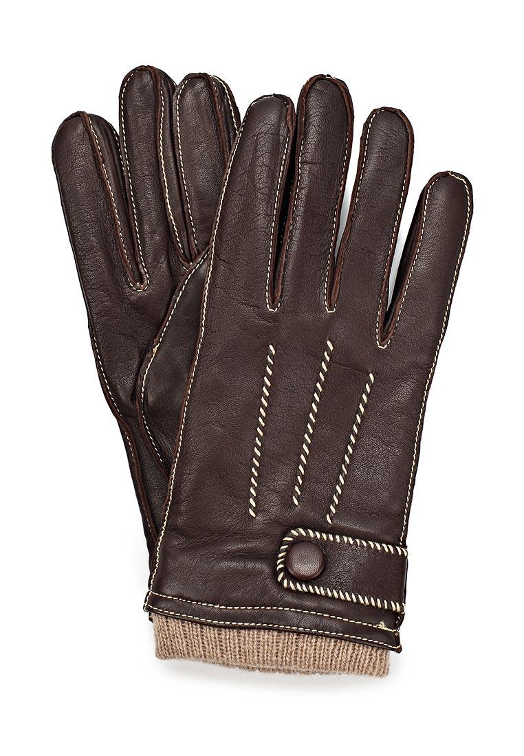Мужские перчатки Eleganzza OS01750 mocca