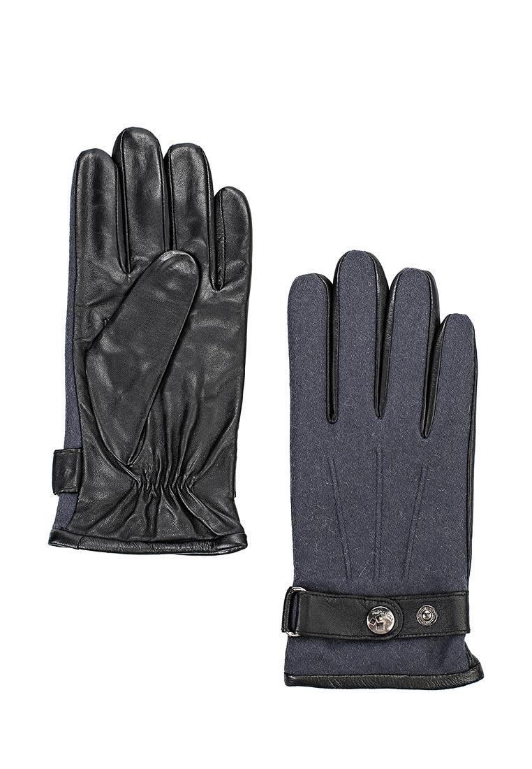 Мужские перчатки Eleganzza IS909 black/d.grey