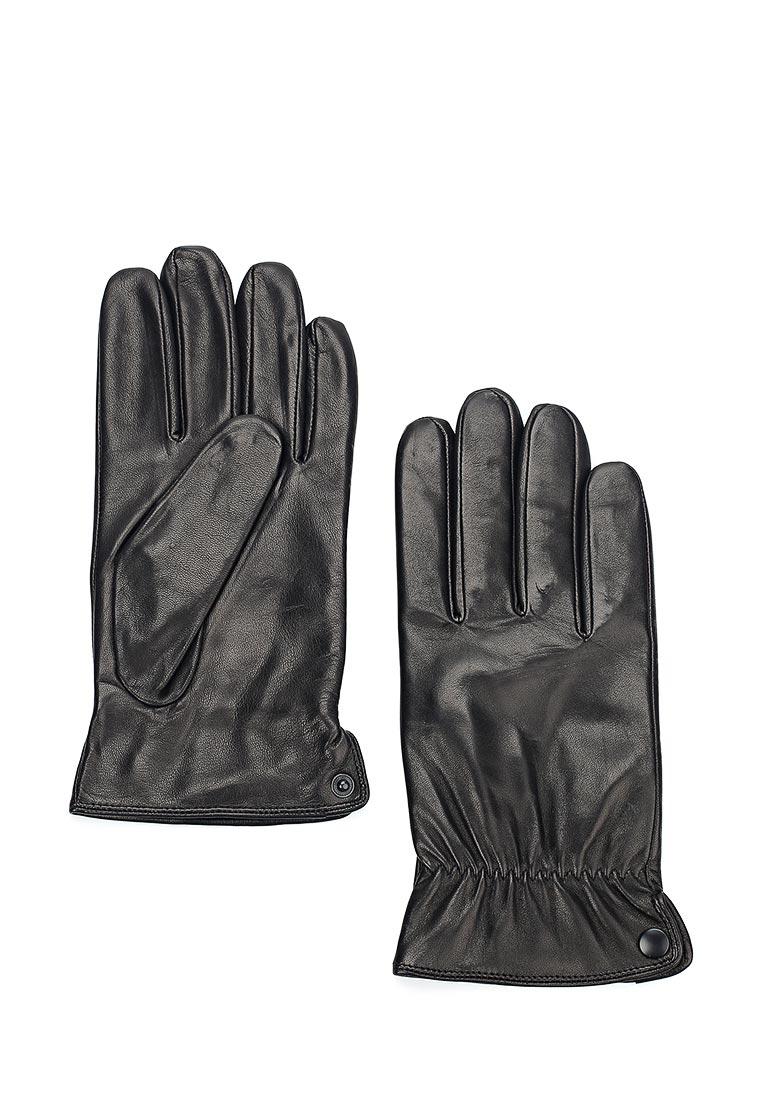 Мужские перчатки Eleganzza IS8640/black/шерсть