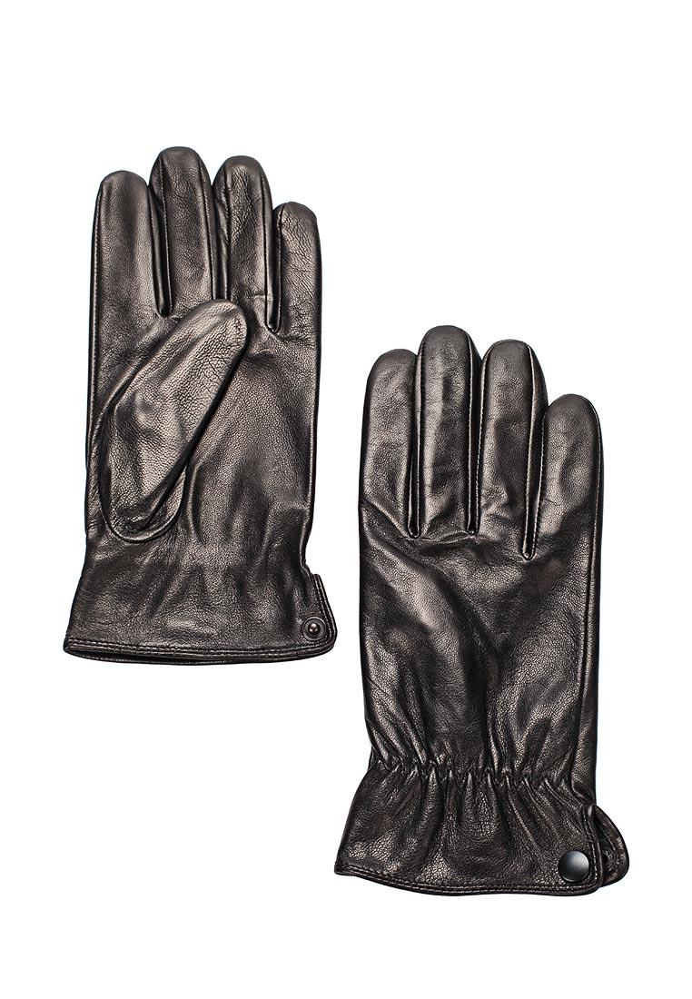 Мужские перчатки Eleganzza IS8640 black шелк
