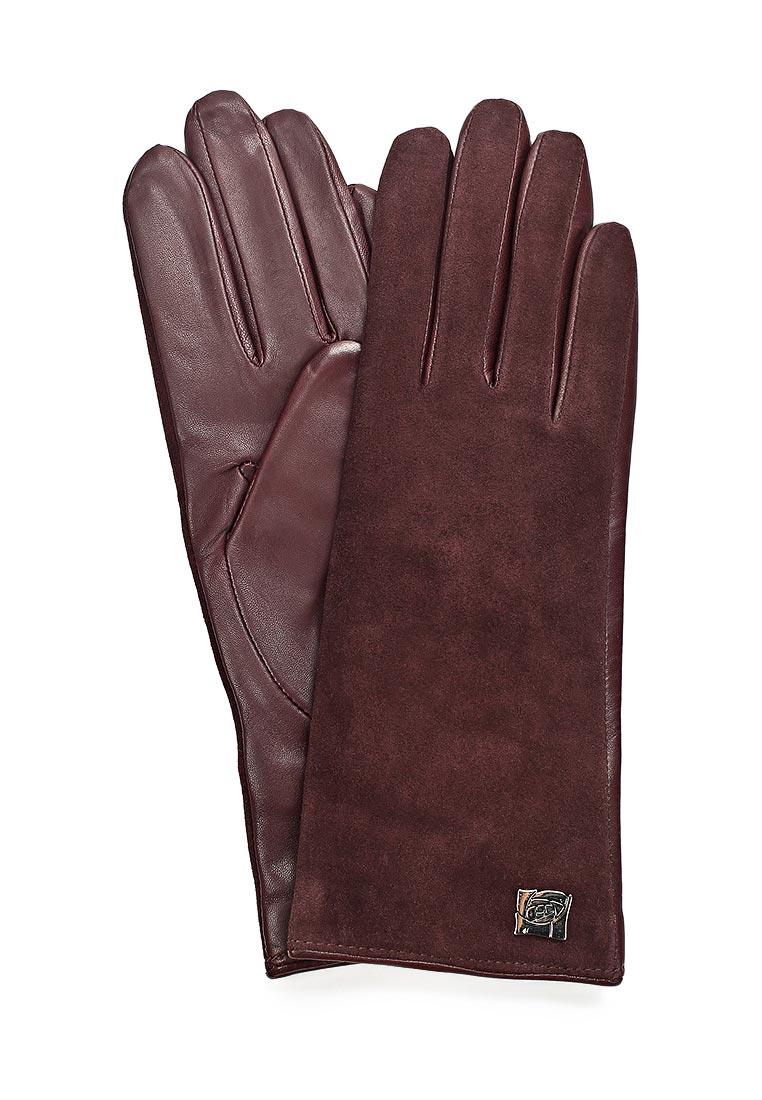 Женские перчатки Eleganzza IS992 plum