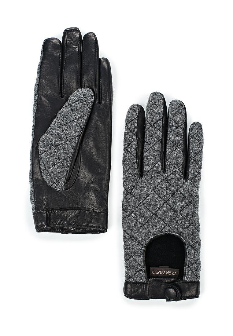 Женские перчатки Eleganzza IS02753 black/grey