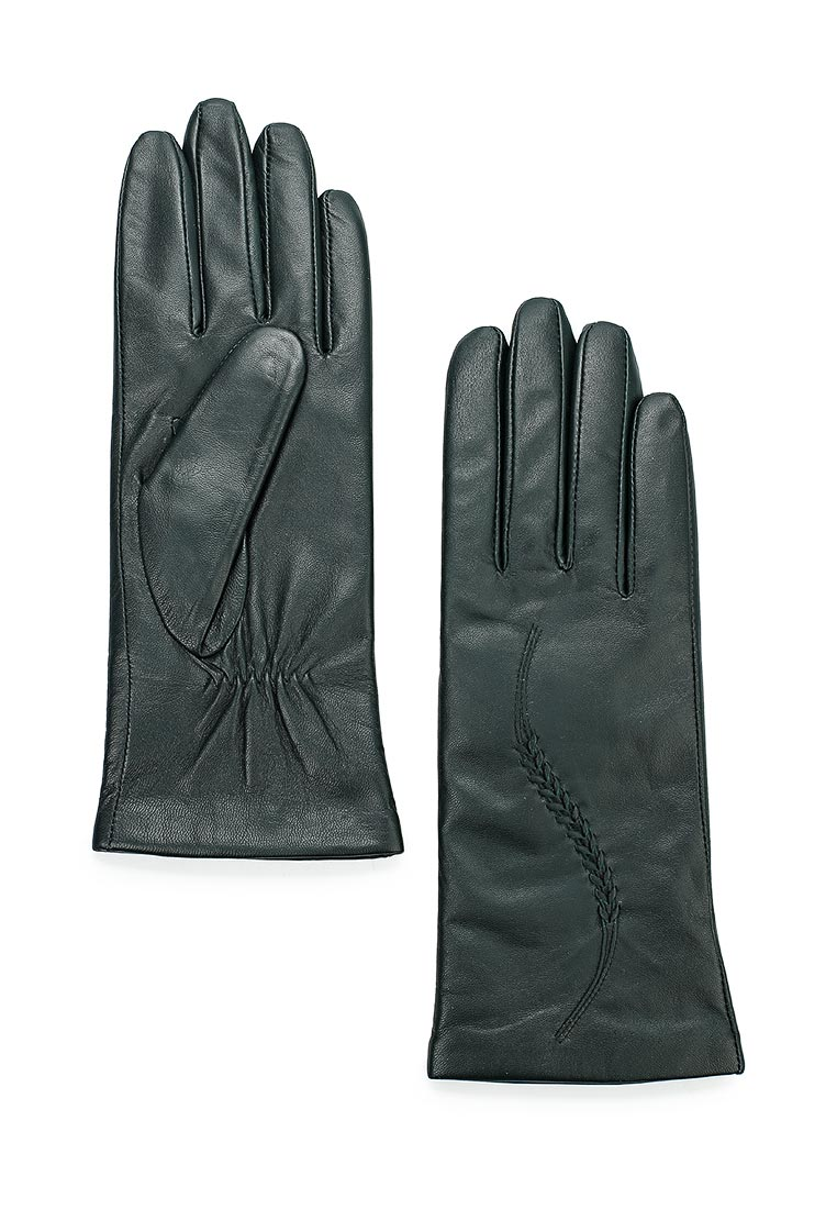Женские перчатки Eleganzza IS7012 d.green