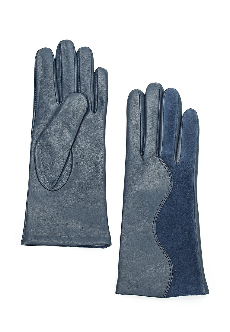 Женские перчатки Eleganzza IS959 d.blue