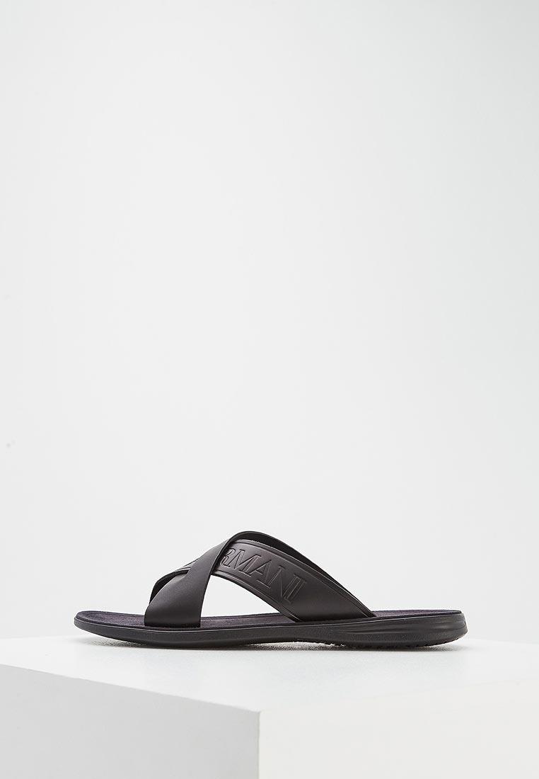 Мужские сандалии Emporio Armani (Эмпорио Армани) x4p001 XL271