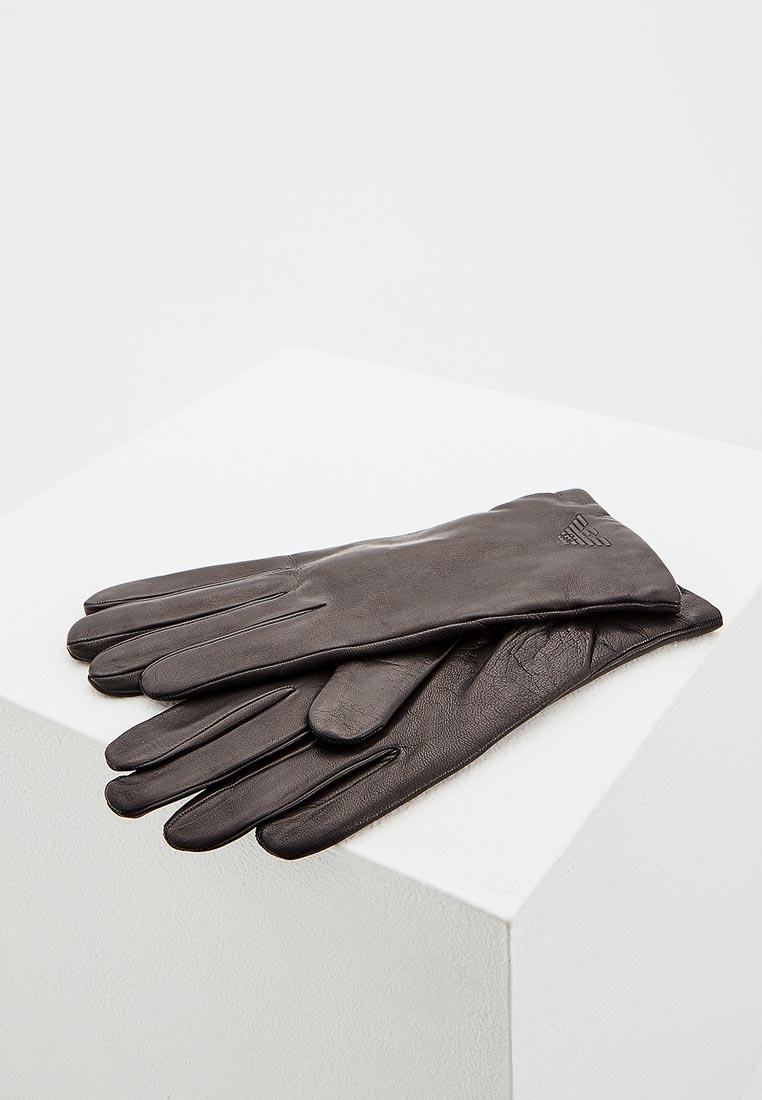 Мужские перчатки Emporio Armani (Эмпорио Армани) 624514 8A249