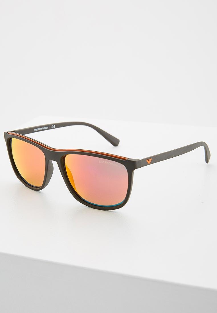 Мужские солнцезащитные очки Emporio Armani 0EA4109
