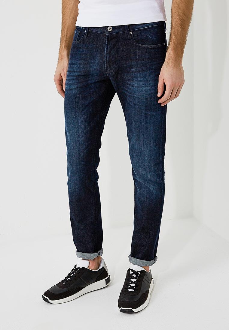 Мужские прямые джинсы Emporio Armani 3Z1J06 1D14Z
