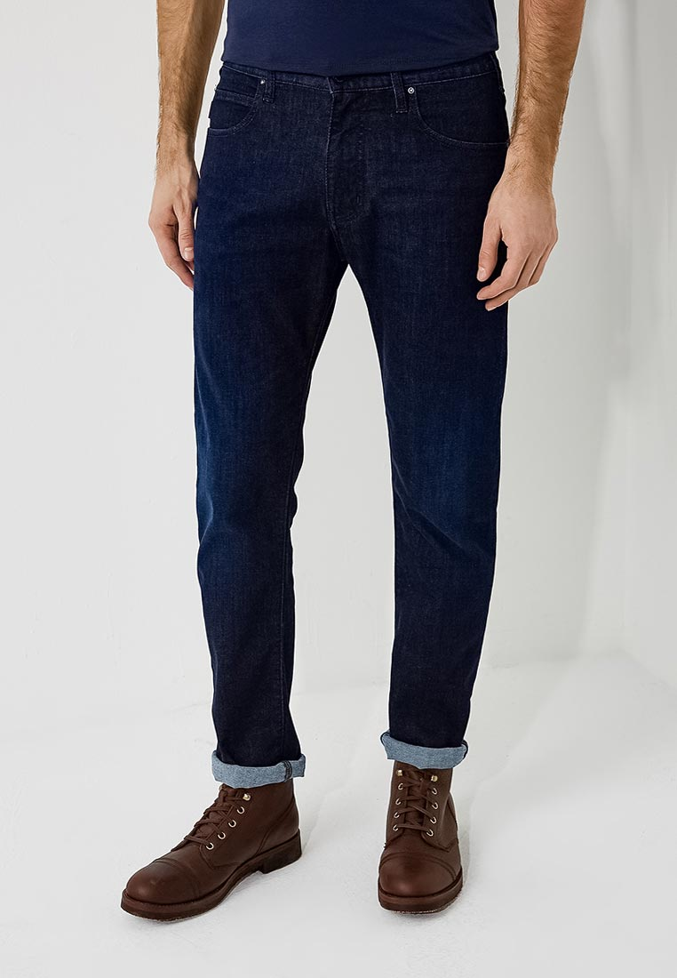 Мужские прямые джинсы Emporio Armani 3Z1J45 1D19Z