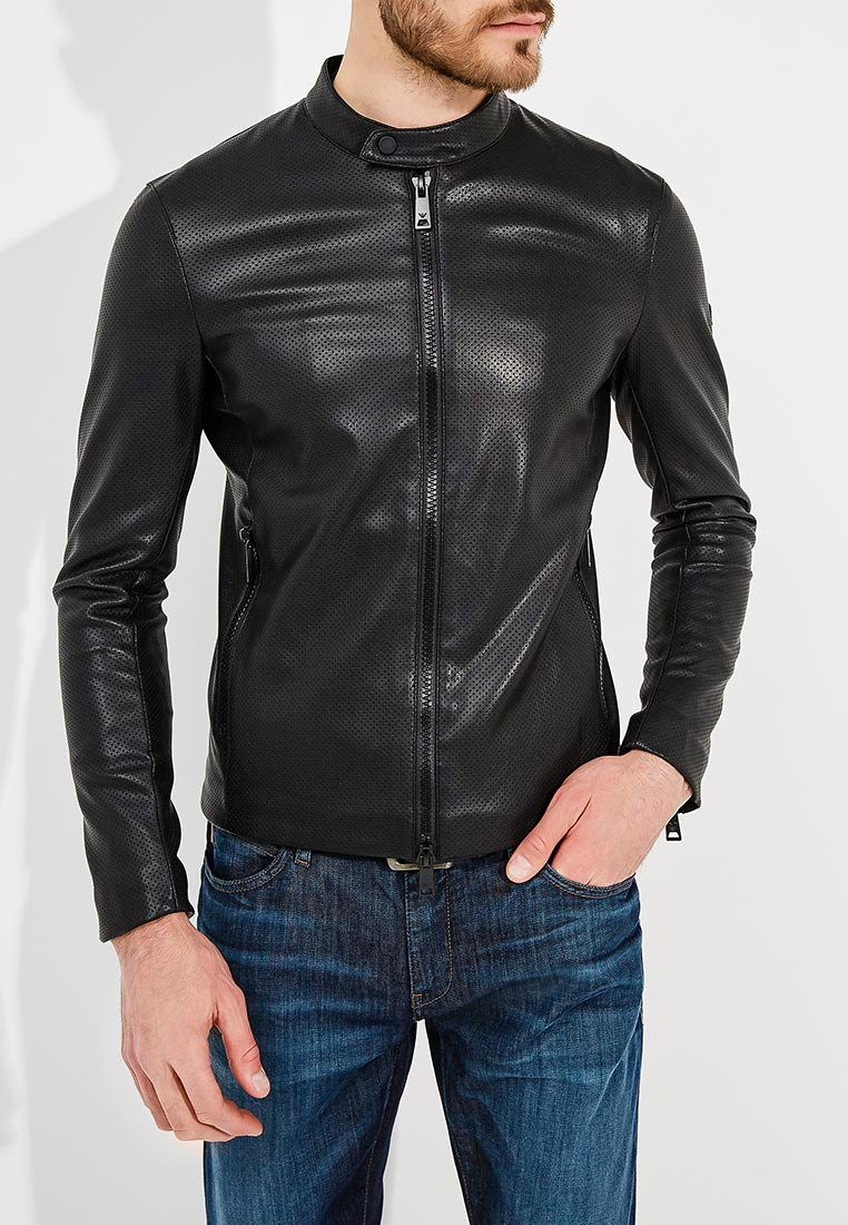 Кожаная куртка Emporio Armani 3Z1B92 1EAAZ