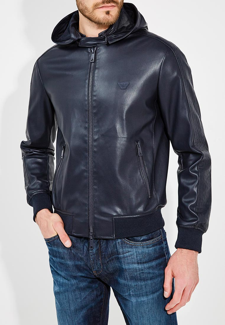 Кожаная куртка Emporio Armani 3Z1B93 1EABZ