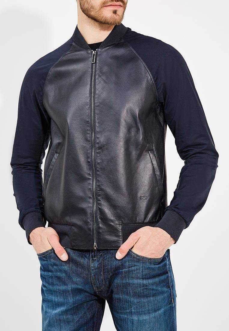 Кожаная куртка Emporio Armani 3Z1BM6 1LBAZ