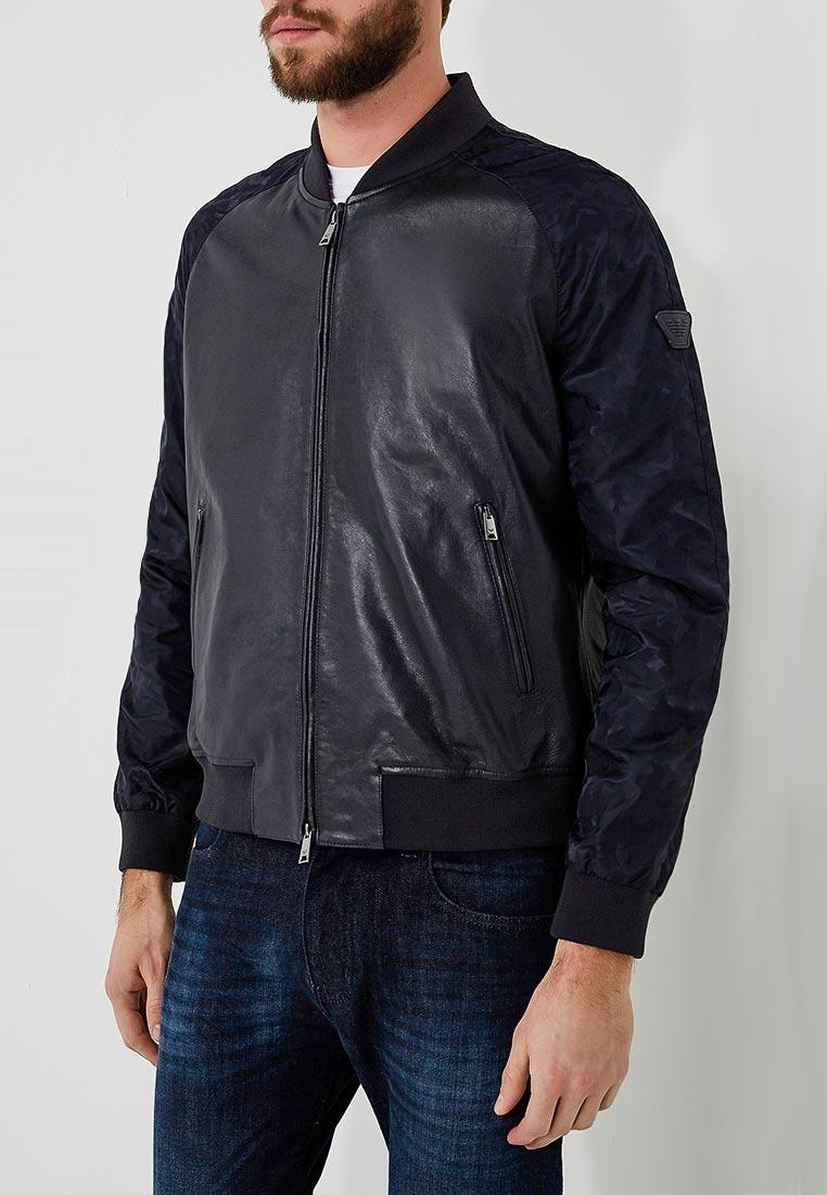 Кожаная куртка Emporio Armani W1B54P W1P58