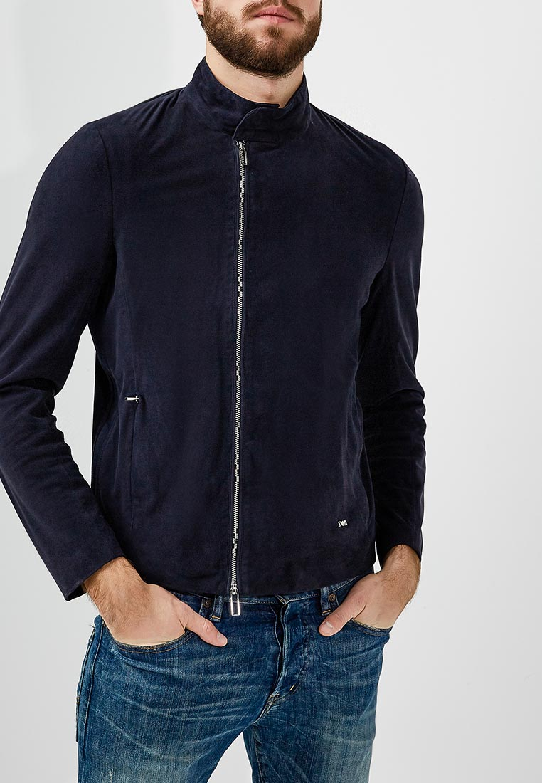 Кожаная куртка Emporio Armani 3Z1BM7 1LBBZ