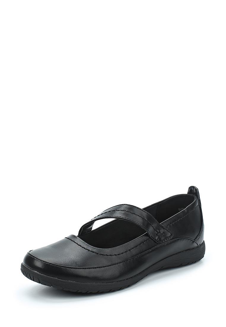 Туфли на плоской подошве Evans 20R01ZBLK