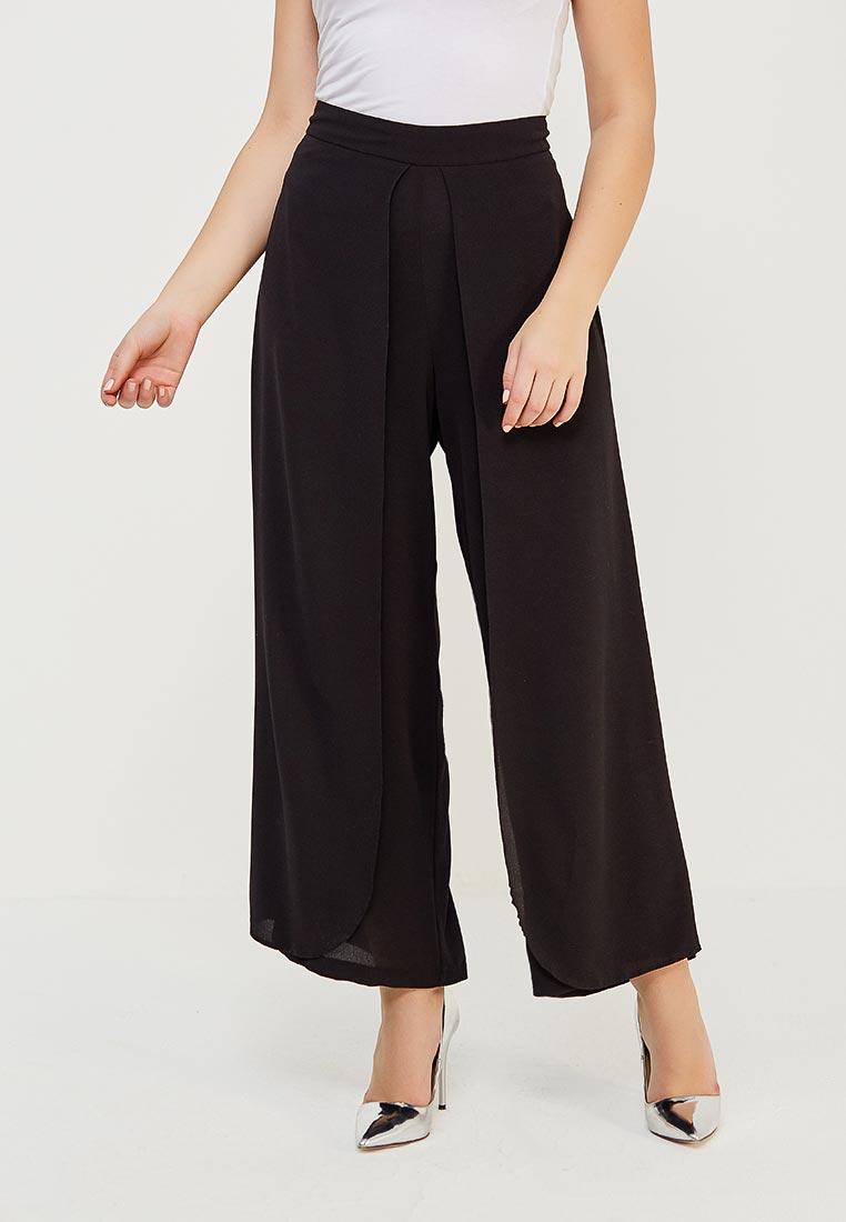 Женские широкие и расклешенные брюки Evans 03H11YBLK
